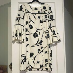 Black and cream Lauren Ralph Lauren dress